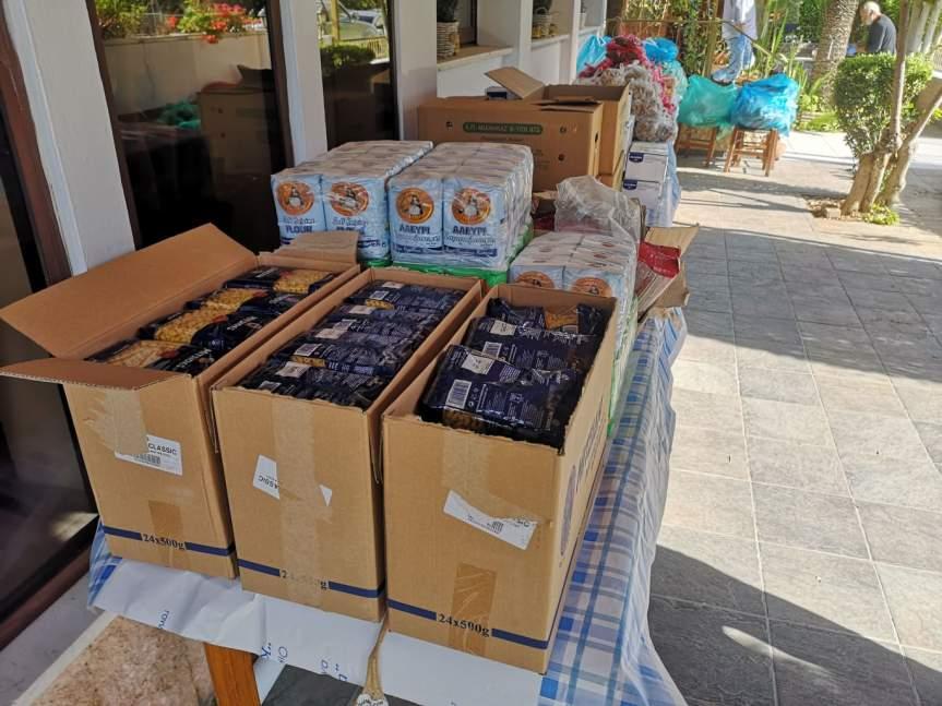Διανομή Τροφίμων για τοΠάσχα
