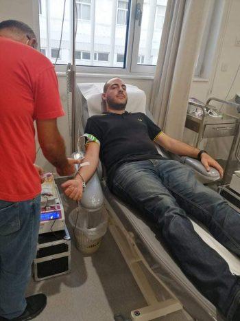 Αιμοδοσία αλληλεγγύης από το ΕΛΑΜ στηΛάρνακα